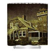 Sandy Hook Beach Home Shower Curtain