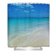 Sandy Shoreline  Shower Curtain
