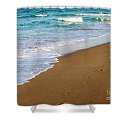 Sandy Toes Shower Curtain