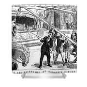 Sanger's Circus, 1884 Shower Curtain
