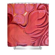 Sanguine Spirit Shower Curtain