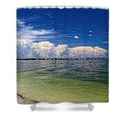 Sanibel Island Shower Curtain