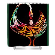 Sankofa Shower Curtain