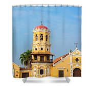 Santa Barbara Church Shower Curtain