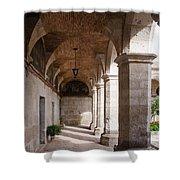 Santa Catalina Monastery In Arequipa Peru Shower Curtain