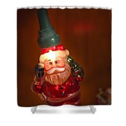 Santa Claus - Antique Ornament - 06 Shower Curtain