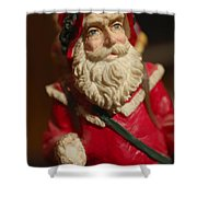 Santa Claus - Antique Ornament - 21 Shower Curtain