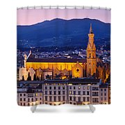 Santa Croce Shower Curtain