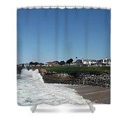 Santa Cruz Coast  Shower Curtain