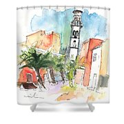 Santa Cruz De Tenerife 02 Shower Curtain