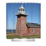 Santa Cruz Lighthouse Surfing Museum California 5d23940 Shower Curtain