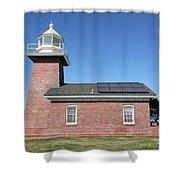 Santa Cruz Lighthouse Surfing Museum California 5d23942 Shower Curtain
