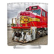 Santa Fe 95 In Retirement Shower Curtain