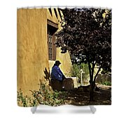 Santa Fe Afternoon - New Mexico Shower Curtain