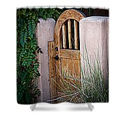 Santa Fe Gate Shower Curtain