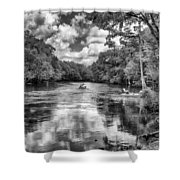 Santa Fe River Park Shower Curtain