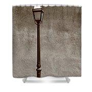 Santa Fe - Streetlight Shower Curtain