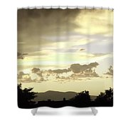 Santa Fe Sunset Shower Curtain