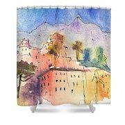 Santa Margherita In Italy 01 Shower Curtain
