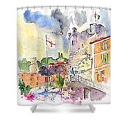 Santa Margherita In Italy 07 Shower Curtain