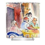 Santa Margherita In Italy 09 Shower Curtain