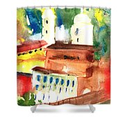 Santa Margherita In Italy 13 Shower Curtain