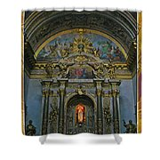 Santa Maria Church In Assisi Italy Shower Curtain