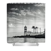Santa Marta Lighthouse I Shower Curtain