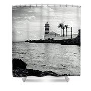 Santa Marta Lighthouse II Shower Curtain