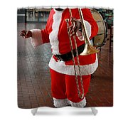 Santa New Orleans Style Shower Curtain