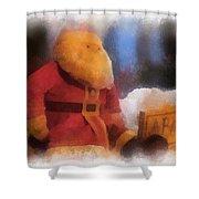 Santa Photo Art 07 Shower Curtain