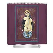 Santa Rosa Patroness Of The Americas 166 Shower Curtain