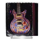 Santana Guitar Shower Curtain