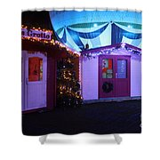 Santa's Grotto In The Winter Gardens Bournemouth Shower Curtain