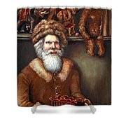 Santas Special Toys Shower Curtain