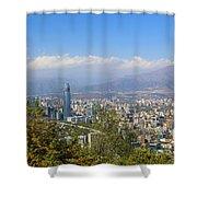 Santiago  Chile Shower Curtain