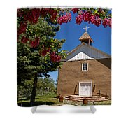 Santisima De Trinidad Mission Church Shower Curtain