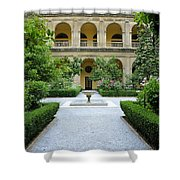 Santo Domingo Courtyard Shower Curtain