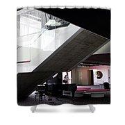Sants Lobby Shower Curtain
