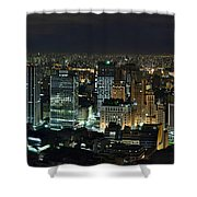 Sao Paulo Downtown From Terraco Italia Shower Curtain