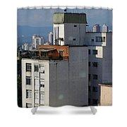 Sao Paulo Penthouse Shower Curtain