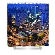 Sao Paulo Skyline - Downtown Shower Curtain