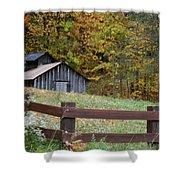 Sap Barn Or House Shower Curtain
