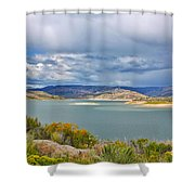 Sapinero Curecanti Recreational Area Colorado Shower Curtain
