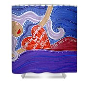 Sappho Shower Curtain