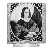 Sarah Childress Polk (1803-1891) Shower Curtain