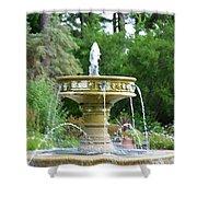 Sarah Lee Baker Perennial Garden 6 Shower Curtain