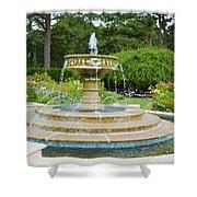 Sarah Lee Baker Perennial Garden 7 Shower Curtain