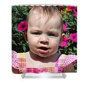 Sarah_3927 Shower Curtain