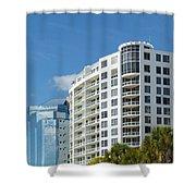 Sarasota Architecture 1 Shower Curtain